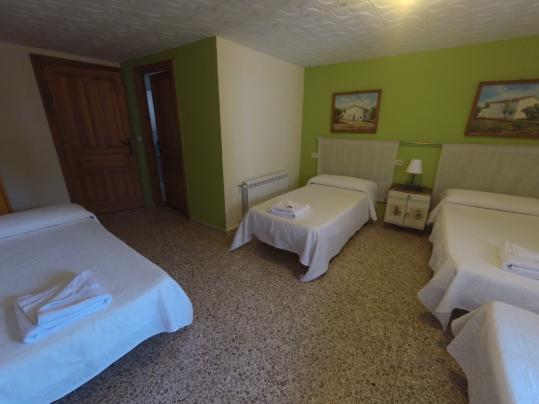 Habitación 4 camas
